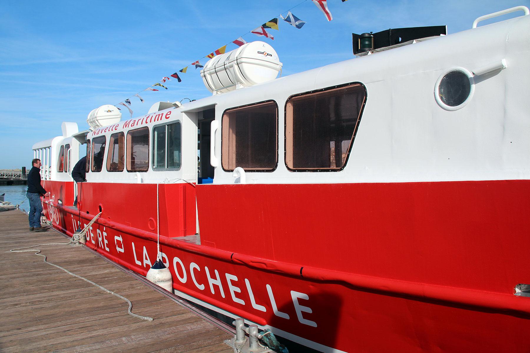 Navette Maritime entre La Rochelle et Île de Ré