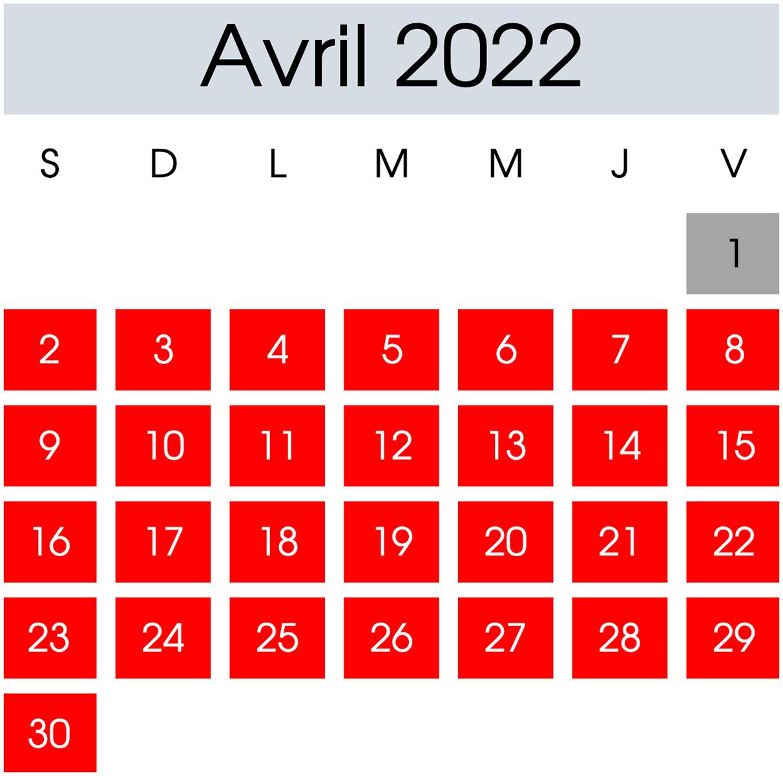 Location Avril